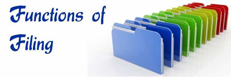 Functions of Filing