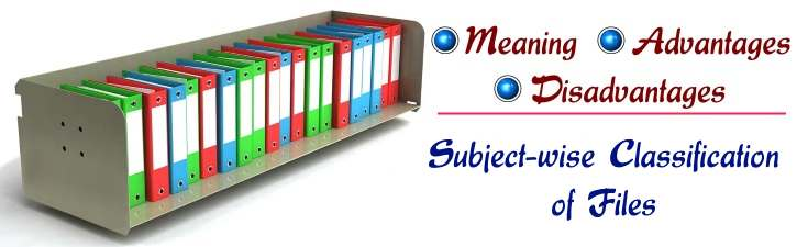 Subject-wise classification of files