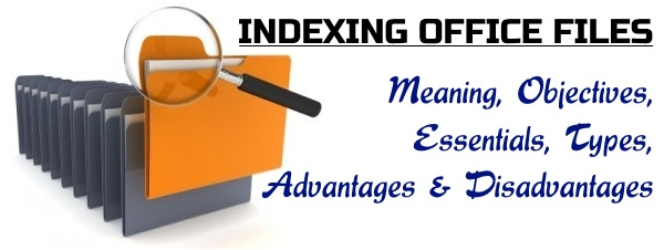 Indexing office files