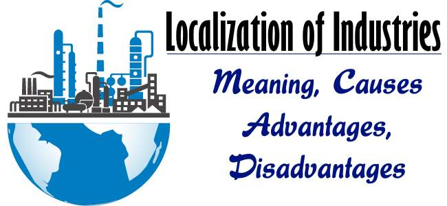 Localisation of Industries