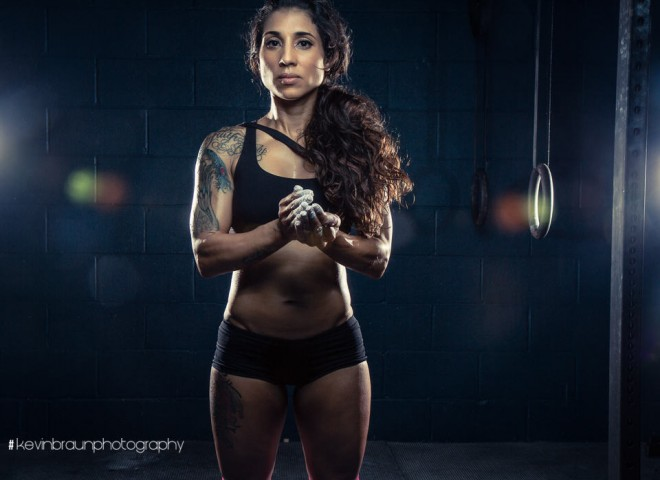 Christine personal trainer and ARMY badass