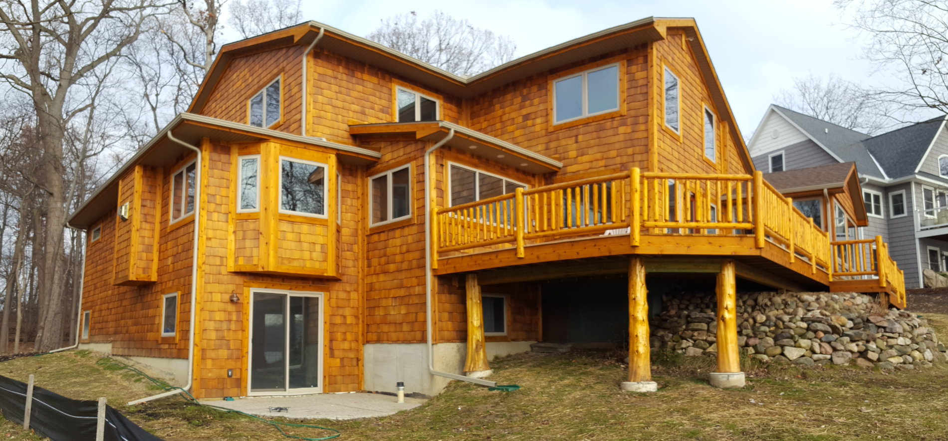 Lake Front Cottage Remodel