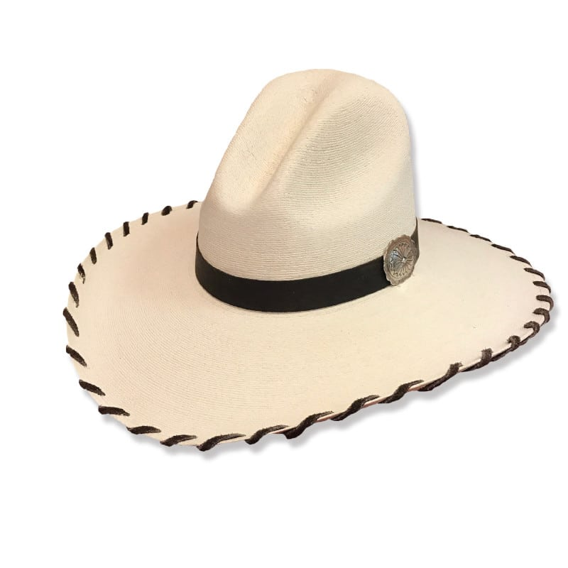 Ladies Western Wear - Fashion Hats - Natalie Chocolate Laced