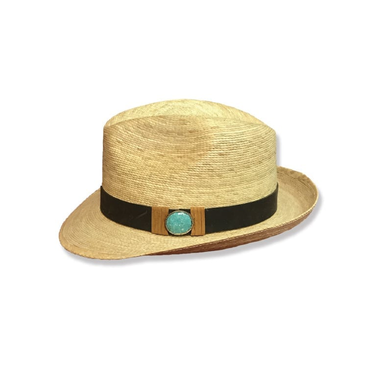 Ladies Western Wear - Ladies Fedora - Kelsey Turquoise