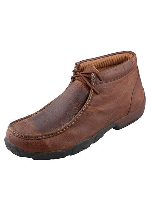 Twisted X Men's Driving Moc - Copper - MDM0014 - Side - 1
