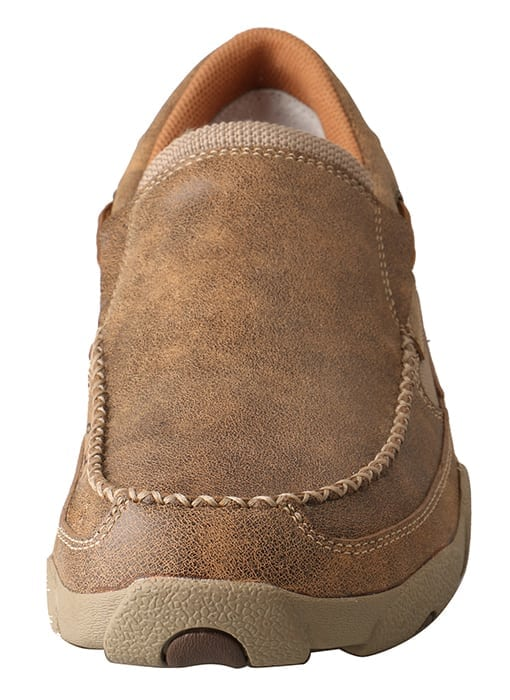 Twisted X Men's Driving Moc Slip On - Bomber - MDMS002 - Front