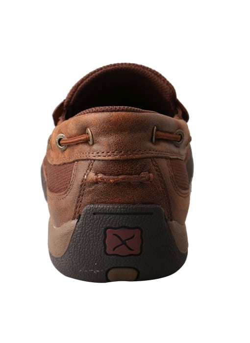 Twisted X Men's Driving Moc Slip On - Brown - MDMS009 - Back