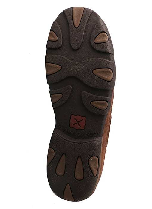 Twisted X Men's Driving Moc Slip On - Brown - MDMS009 - Bottom