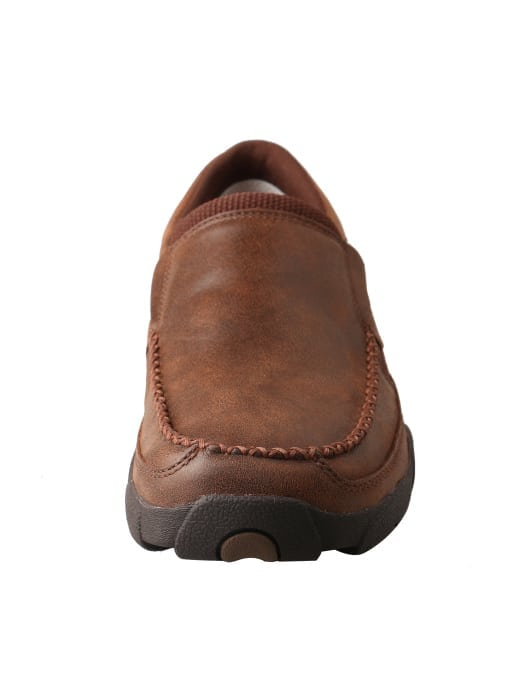 Twisted X Men's Driving Moc Slip On - Brown - MDMS009 - Front