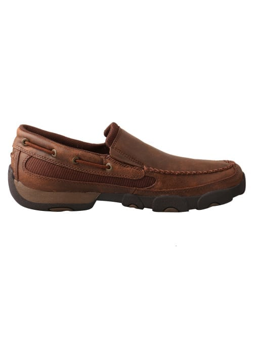 Twisted X Men's Driving Moc Slip On - Brown - MDMS009 - Right