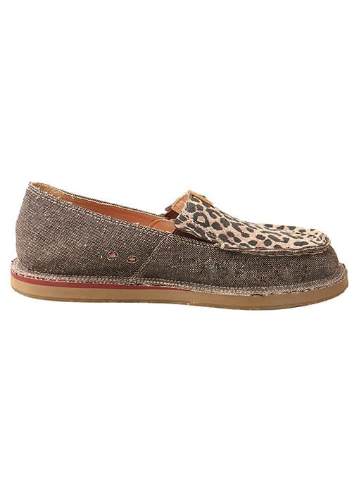 Twisted X Women's Driving Moc Loafer - Dust-leaopard - WCL0001 - Right