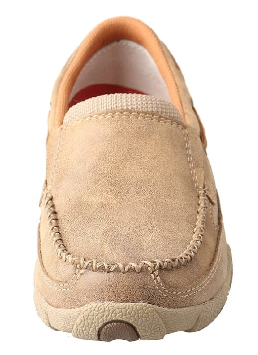 Twisted X Women's Driving Moc Slip On - Bomber - WDMS005 - Front