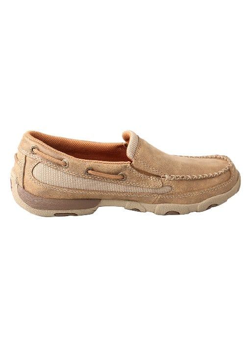 Twisted X Women's Driving Moc Slip On - Bomber - WDMS005 - Right
