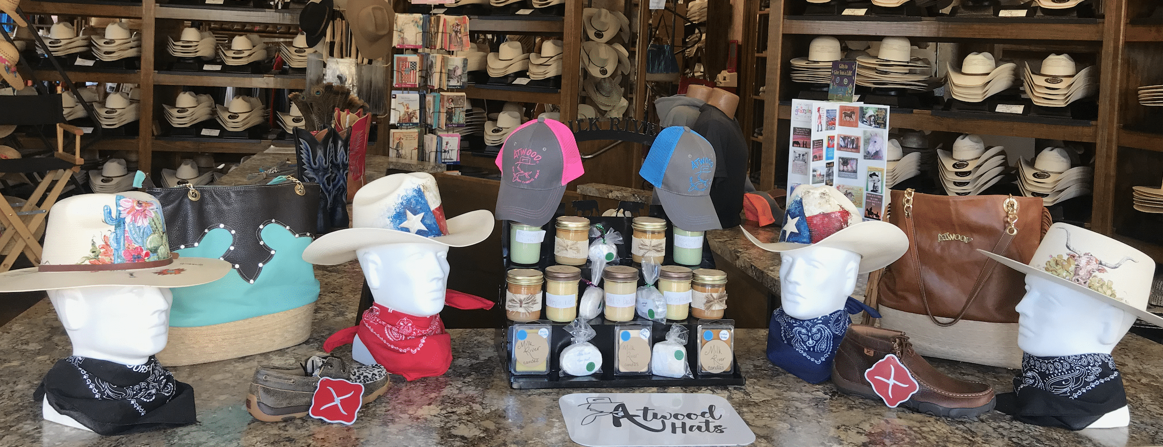 Windmill Mercantile, Atwood Hats, Western Wear, Cowboy hats