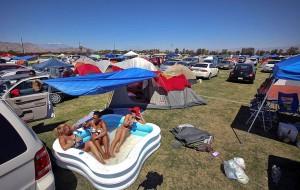 camp site pool