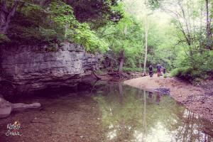 River swimming spot.