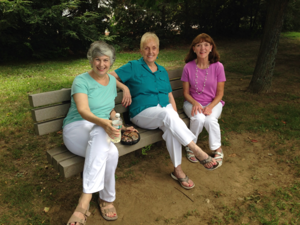 Mary, Jeannine and Maureen