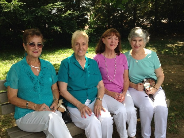 Sunny, Jeannine, Maureen and Mary