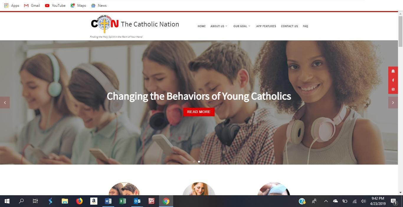 catholic nation website 2