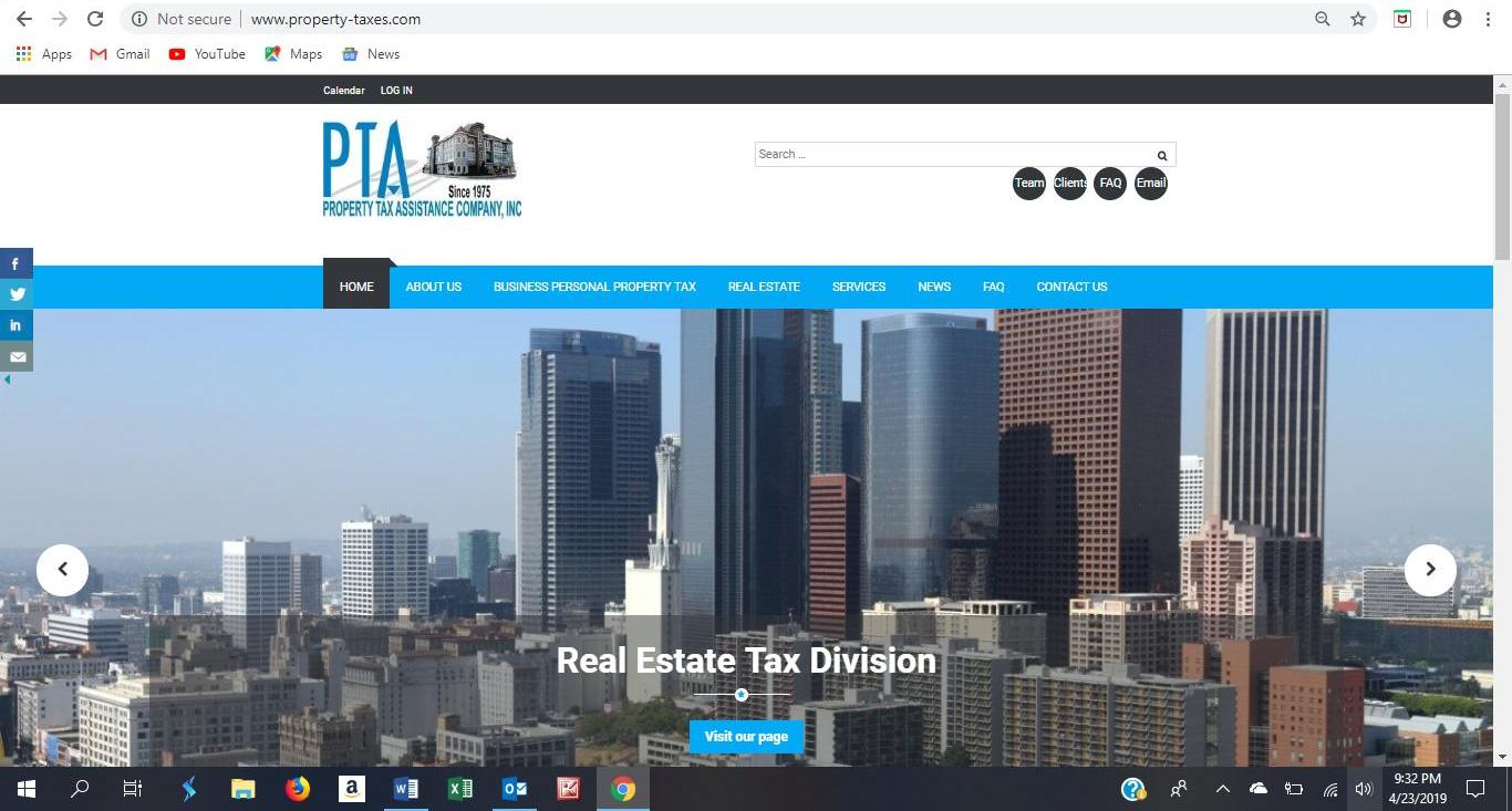 property taxes website 1