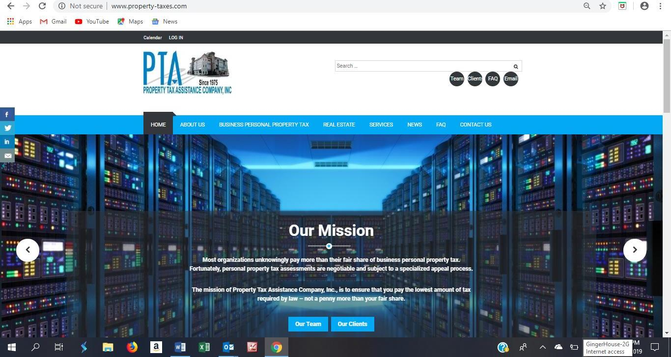property taxes website 2