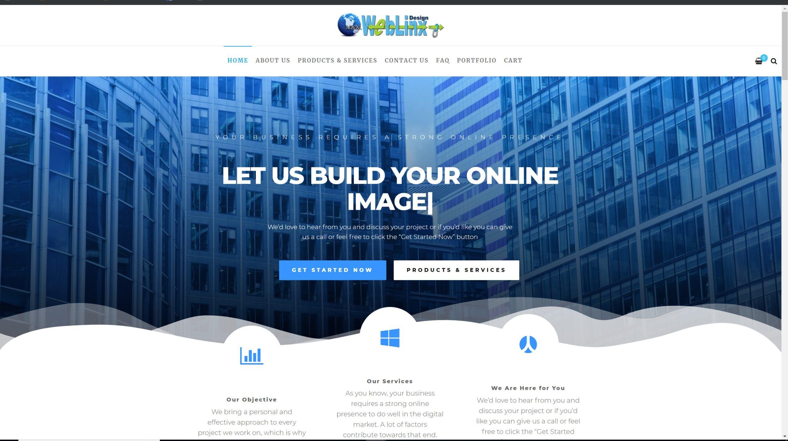 weblinx website 2