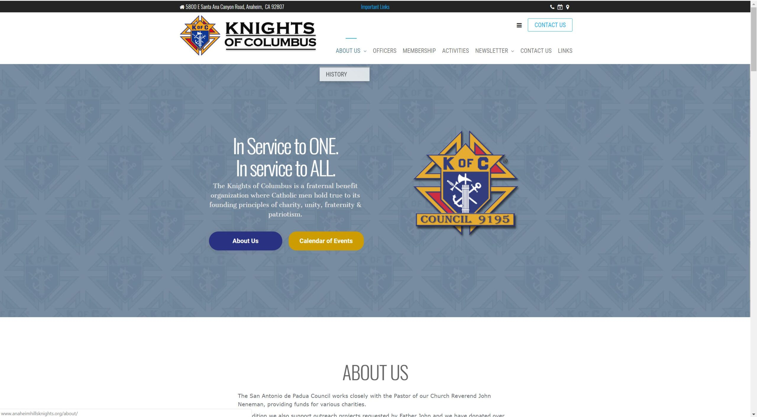 Knights of Colubus 9195