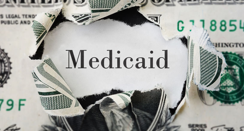 Medicaid spend down plan for Medicaid benefits to pay for long term care in a skilled nursing home