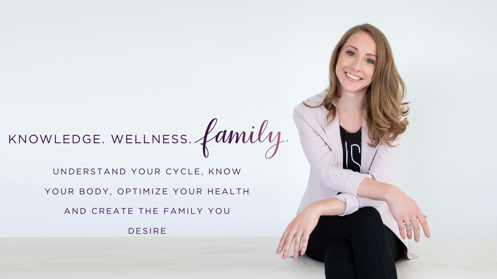 Lauren Full width Banner with tag line