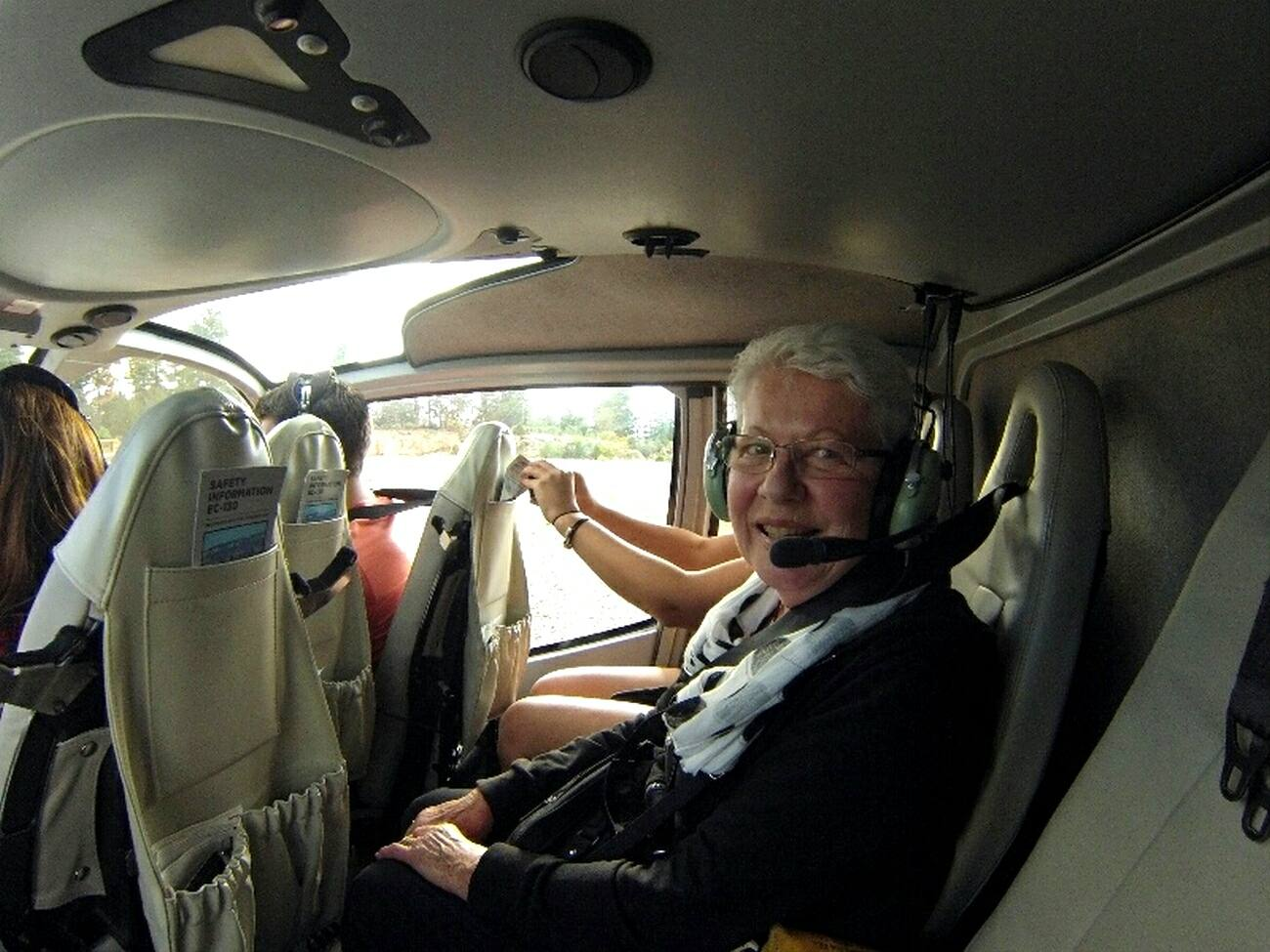 Co-pilot, Marilyn