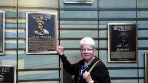 Elvis in Hall of Fame