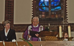 Pastor Vanderstad at St. Josef church