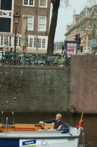Pim in front of Singel 2A