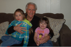 Madison 4 and Lily 3, great granddaughters