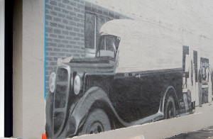 Progress on Finholm Mural