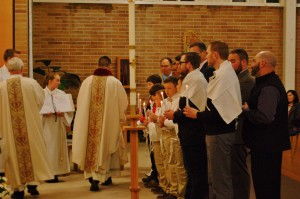 Baptism at Easter Vigil