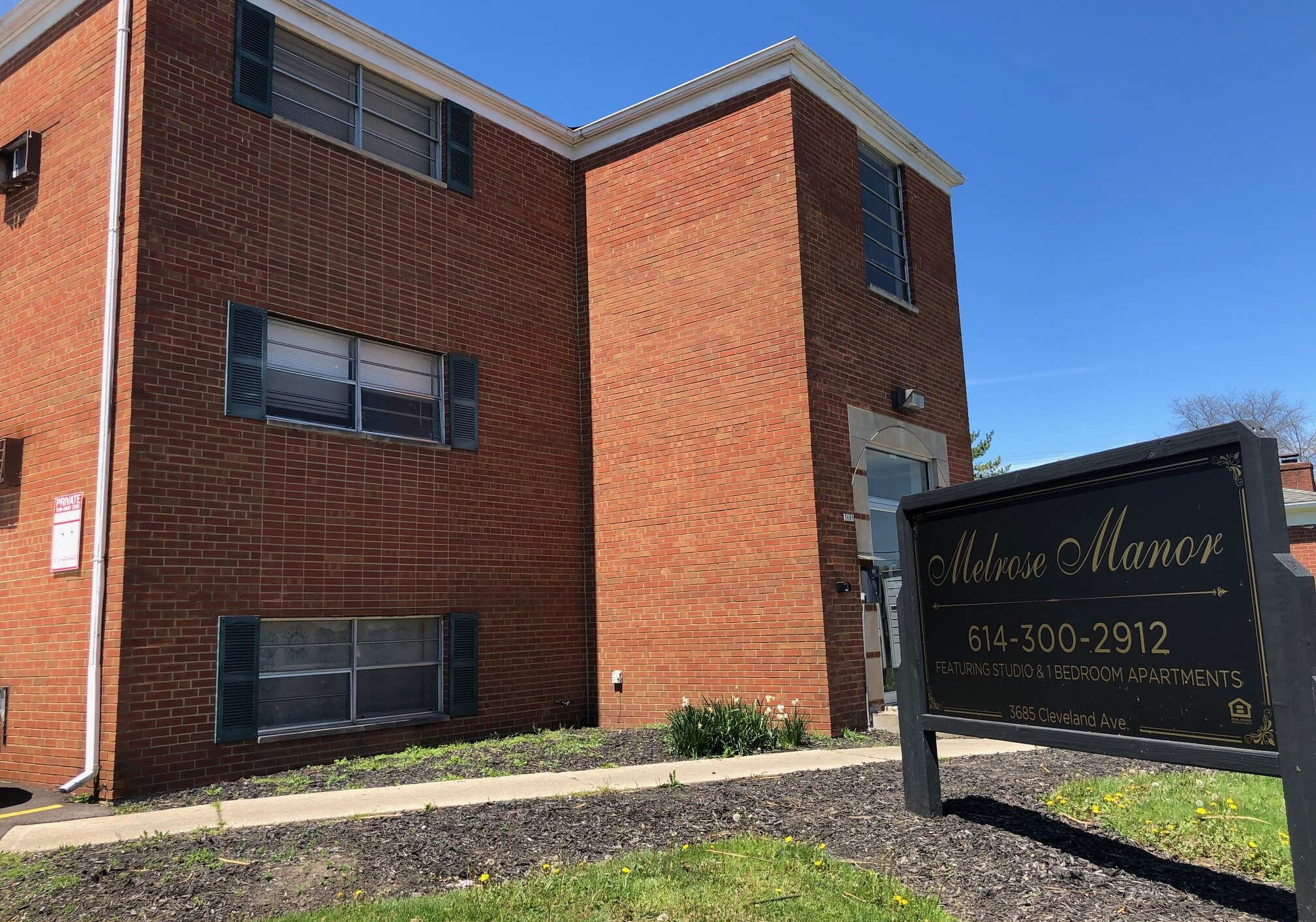 Melrose Manor Workforce Housing Investment Property Columbus, Ohio