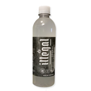 Illegal Brands 30mg CBD Infused Water - Passion Fruit