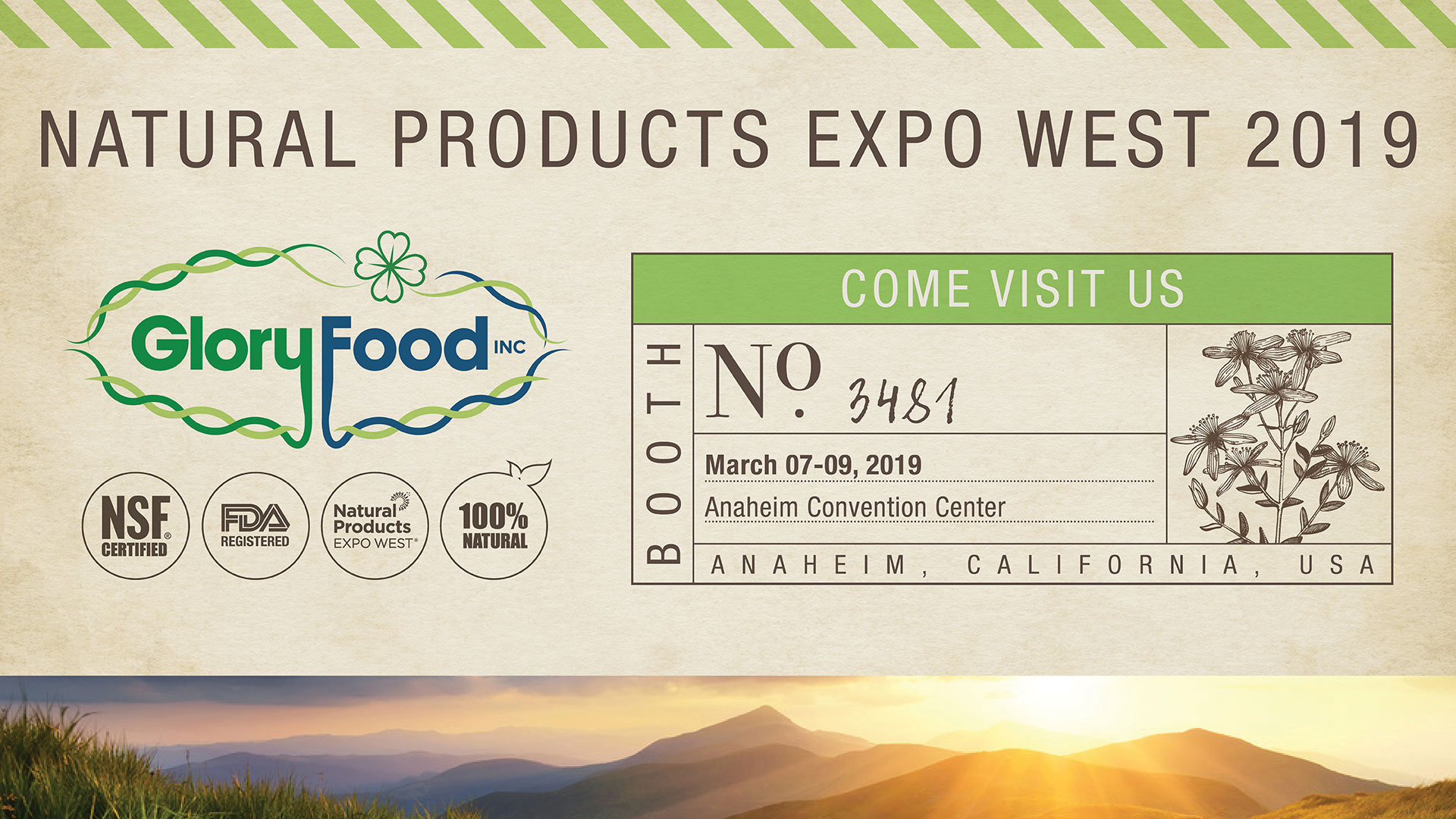 Natural Products Expo West 2019