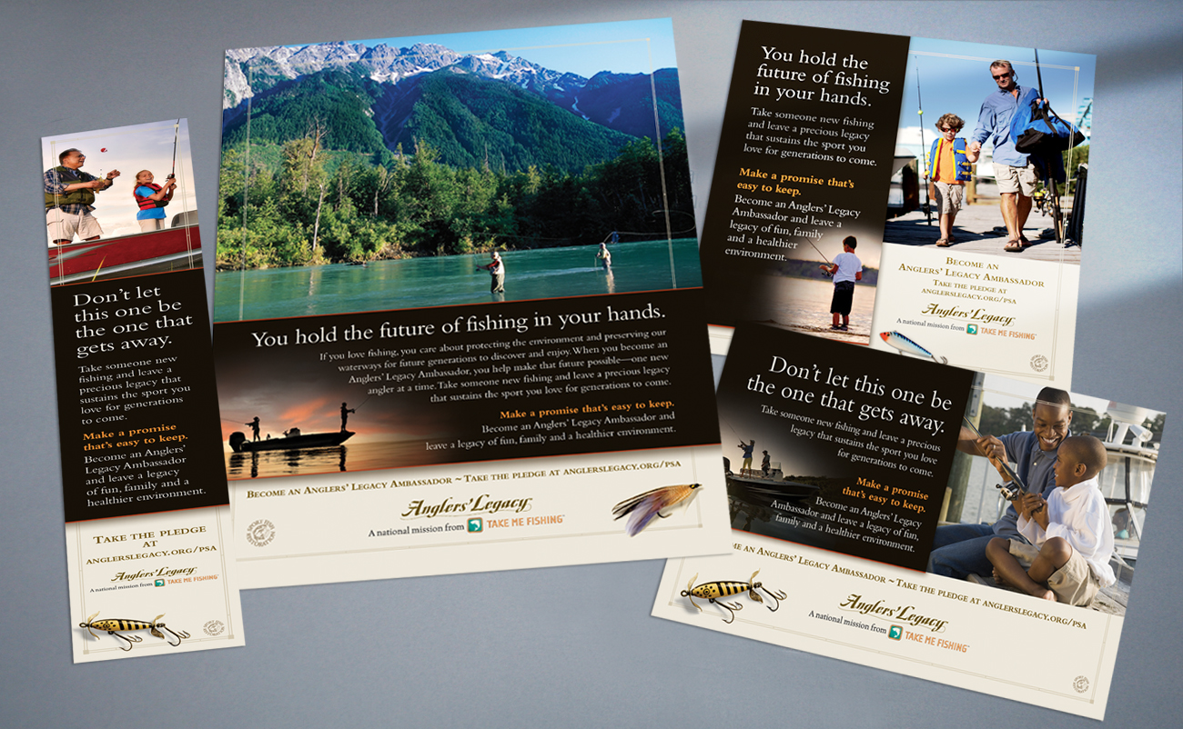 Recreational Boating & Fishing Foundation - Anglers Legacy ads