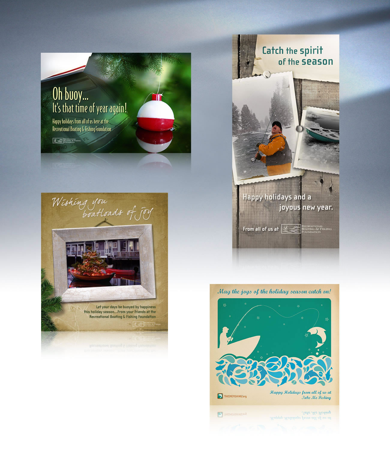 Holiday Cards - Recreational Boating & Fishing Foundation