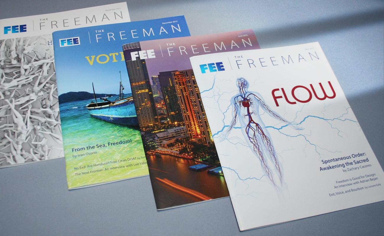Freeman Magazine Covers - Integrated Printing & Graphics