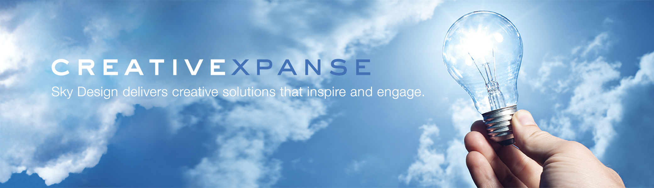 Sky Design delivers creative solutions that inspire and engage.