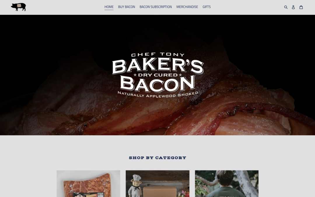 Baker's Bacon Online Shop