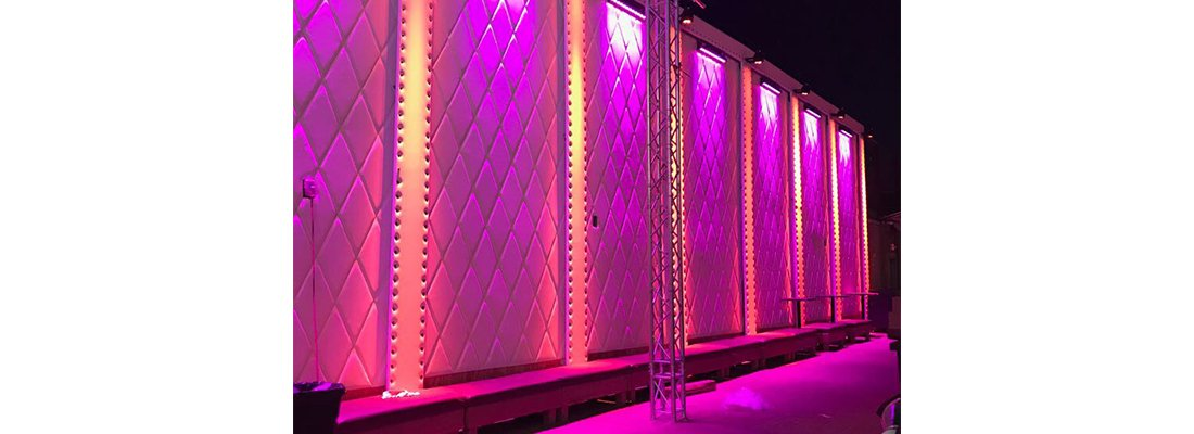 An example of our nightclub sound system services in Miami, FL