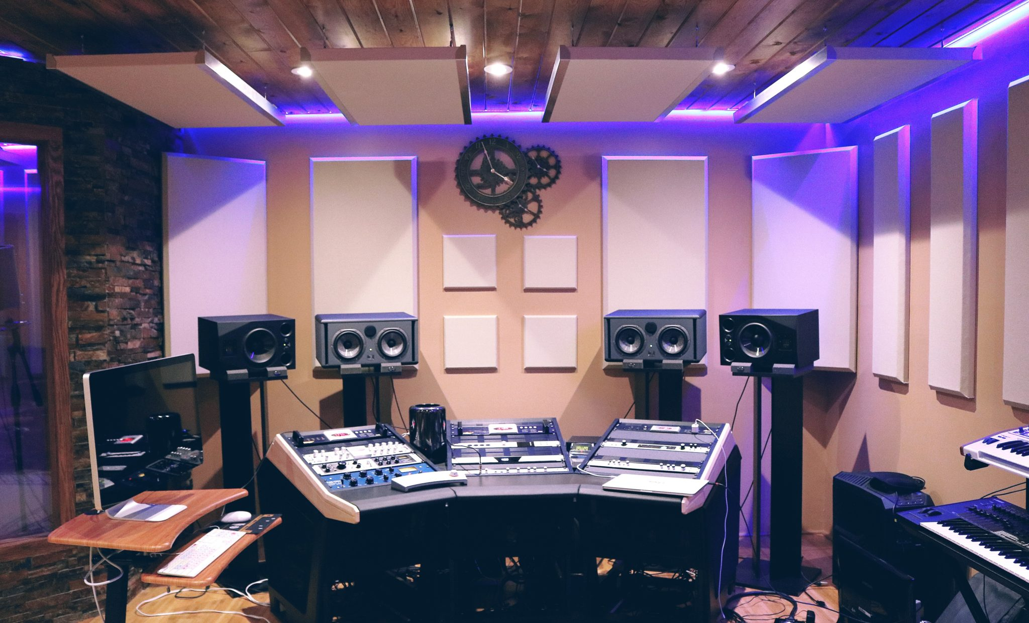 An office that received our audio design services in Miami, FL
