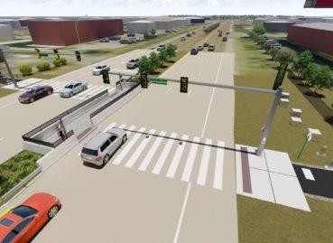 Greenline East Expansion, Germantown Road Crossing