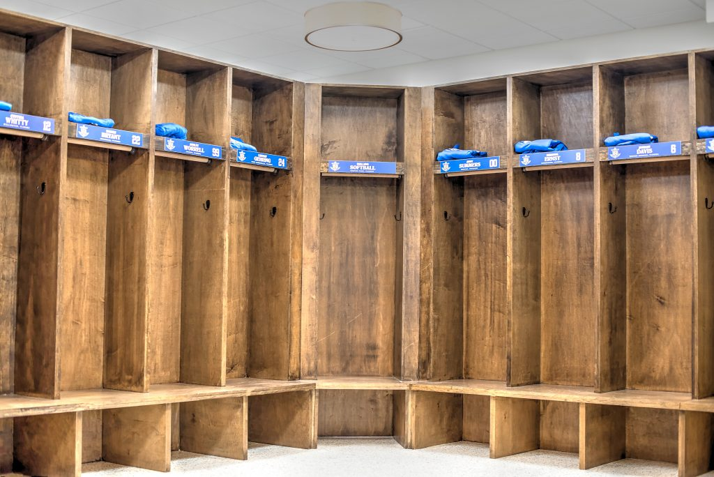 Orlando Commercial Construction Company Locker Room Construction Rollins College