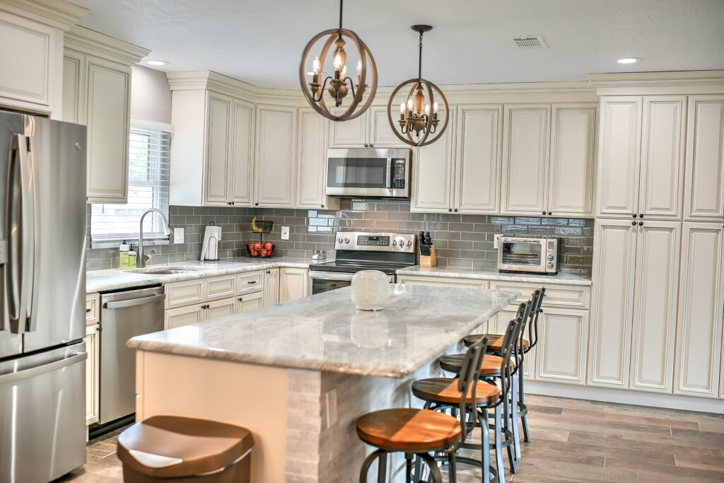 Seen Above: Granite Countertops by Riken Construction - Deland, FL Construction