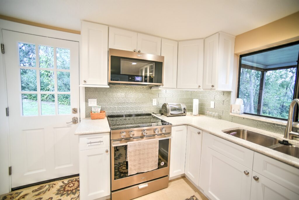 Seen Above: Quartz Countertops by Riken Construction - Lake Mary, FL Construction